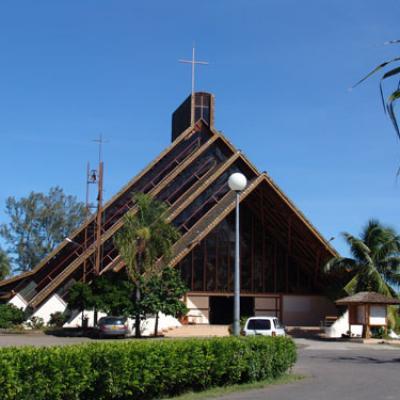 Eglise St Etienne à punaauia