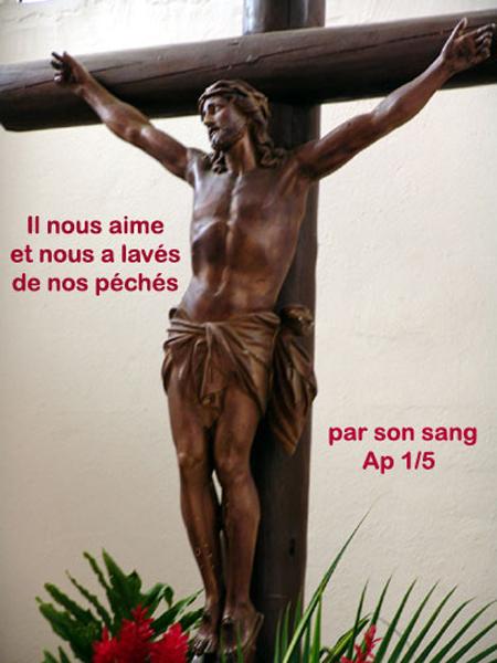 Apocalypse-1 Il nous aime et nous a lavés de nos péchés