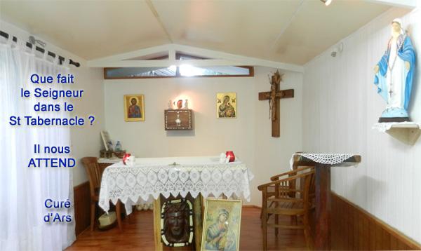 Cure-Ars-1  Jésus au tabernacle