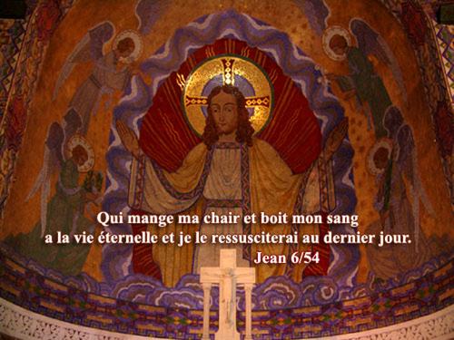 Jean-6 Qui mange ma chair .....