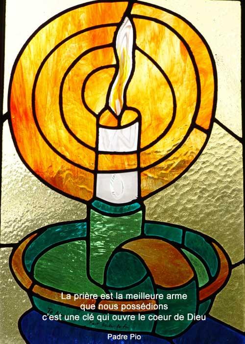 Padre-Pio-la prière est la meilleure arme