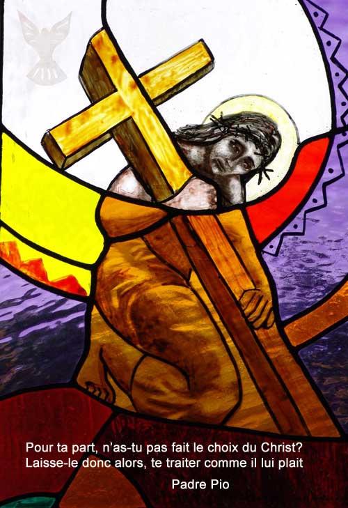Padre-Pio-Pour ta part tu as choisi le Christ