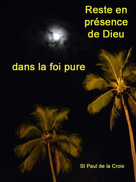 St-Paul-de-la-Croix-reste en présence de Dieu