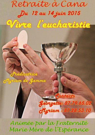 Affiche eucharistie2015w
