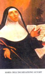 Beata maria dell incarnazione guyart