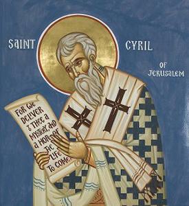 Cyrille de jerusalem1