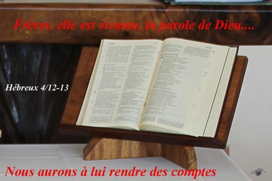 Hebreux 4 12 13w