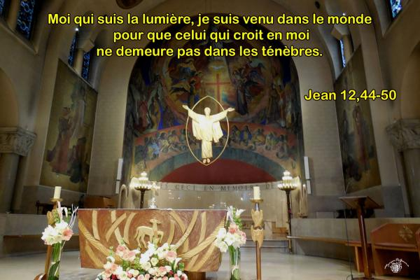 Jean 12 44 50aw