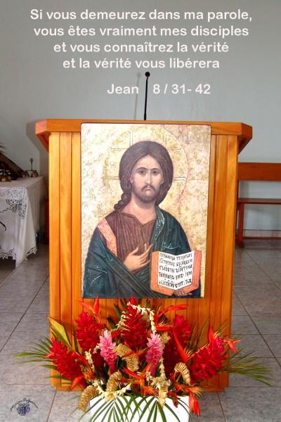 Jean 8 31 42aw