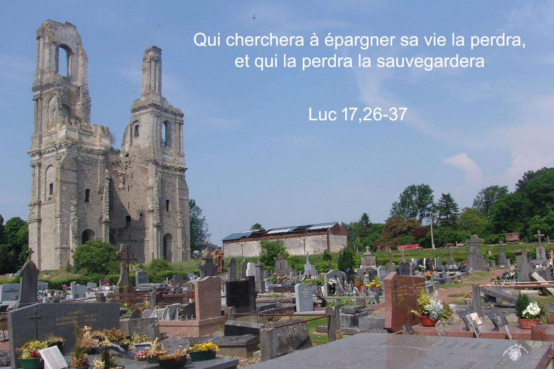 Saint Lucas Calendrier.Commentaire De Luc 17 26 37