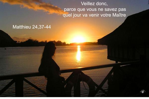 Matthieu 24 37 44aw
