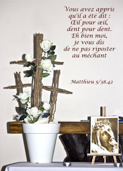 Matthieu 5 38 42w