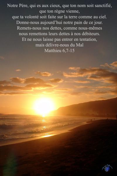 Matthieu 6 7 15aw