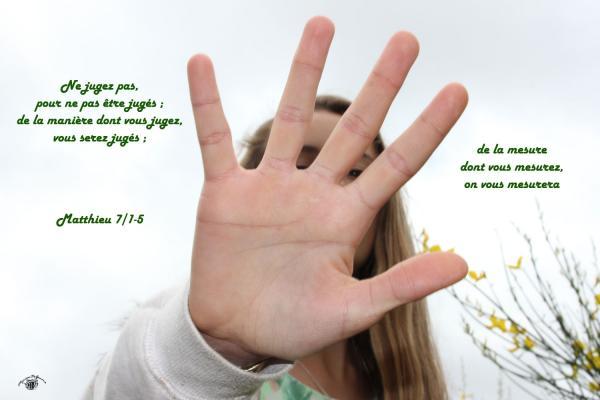 Matthieu 7 1 5