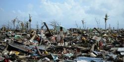 Passage du typhon haiyan