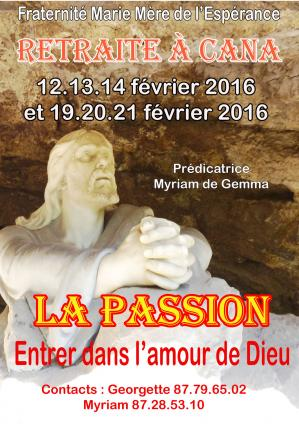 Passion affiche 2016aw