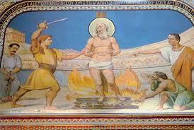 Polycarpe martyr