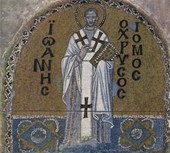 Saint jean chrysostome mosaique