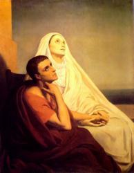 Saint monique and saint augustin 1