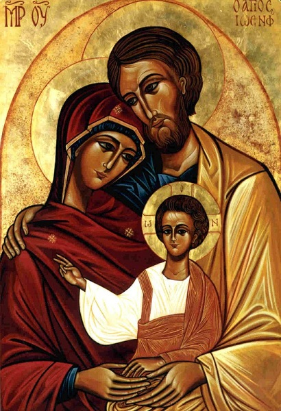 Sainte famille icone 1cd29