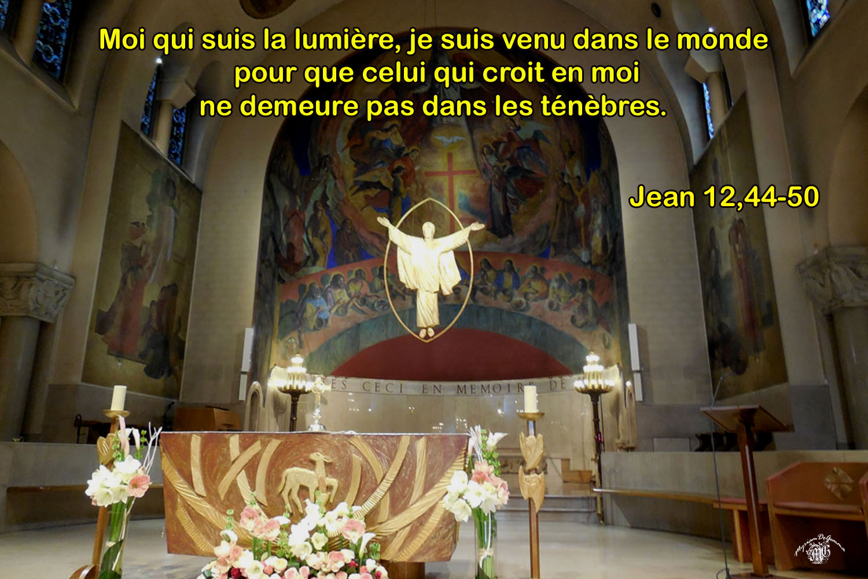 Comentaire de Jean 12,44-50
