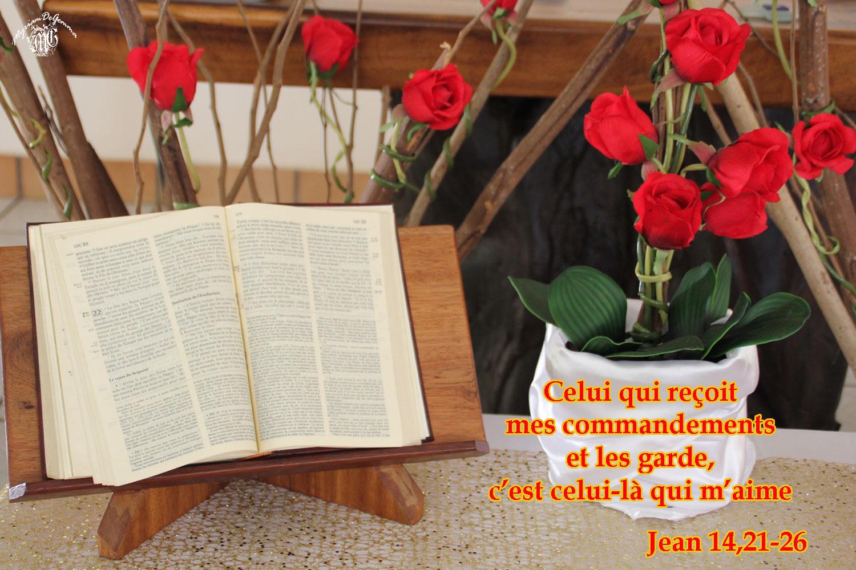 Commentaire de Jean 14,21-26.