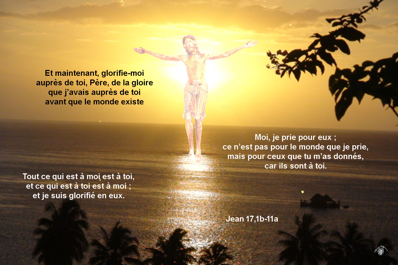 Commentaire de Jean 17,1b-11a