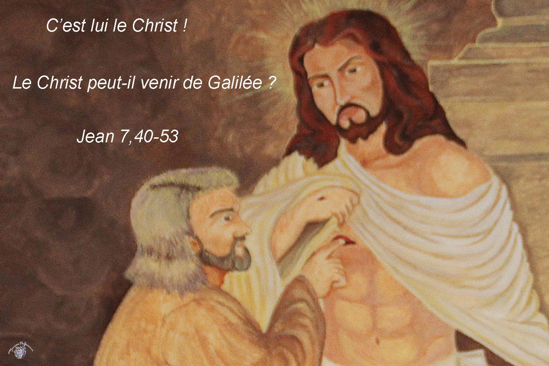 Commentaire de Jean 7,40-53