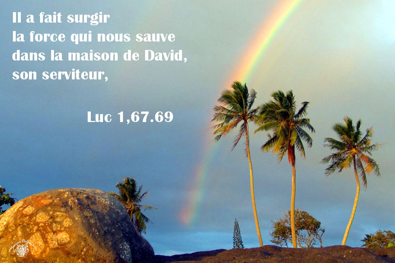 Commentaire de Luc 1,67.69