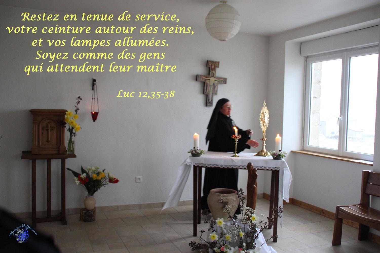 Commentaire de Luc 12,35-38