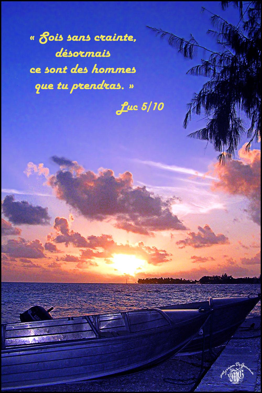 Commentaire de Luc 5,1-11