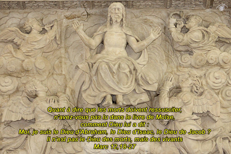 Commentaire de Marc 12,18-27