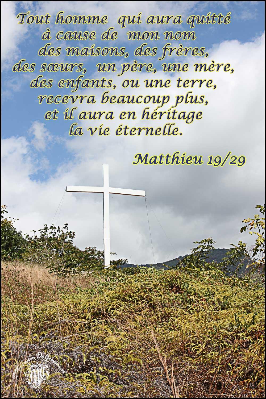 Commentaire de Matthieu 19,23-30