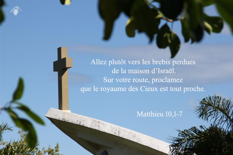 Commentaire de Matthieu 10,1-7