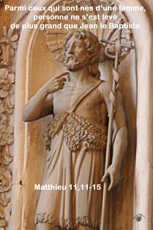 commentaire Matthieu 11/11-15