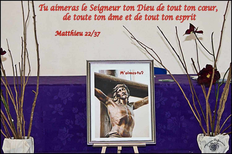 Commentaire de Matthieu 22, 34-40
