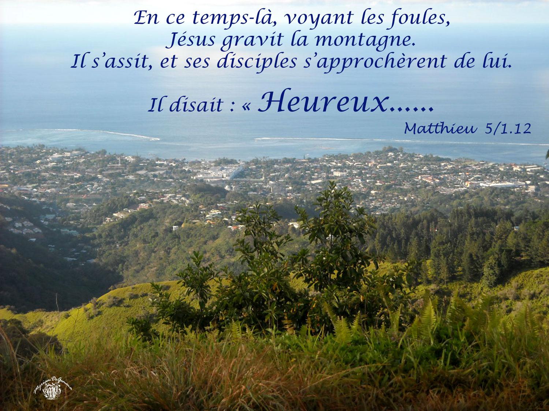 Commentaire Matthieu 5,1-12