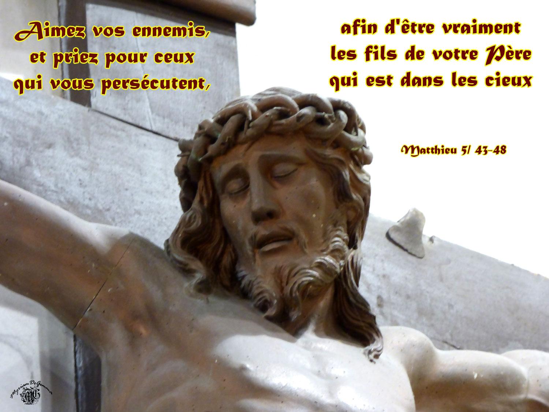 Matthieu 5,43-48