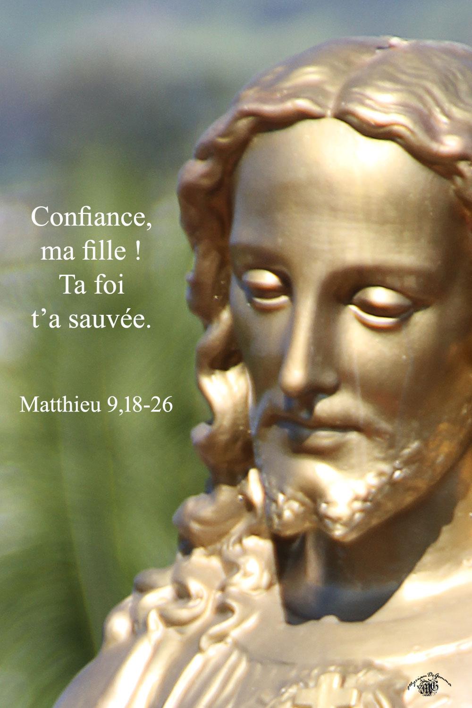 Commentaire de Matthieu 9,18-26